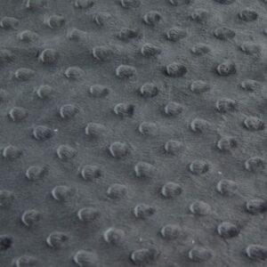 minky grigio scuro tessuto peluche, pile