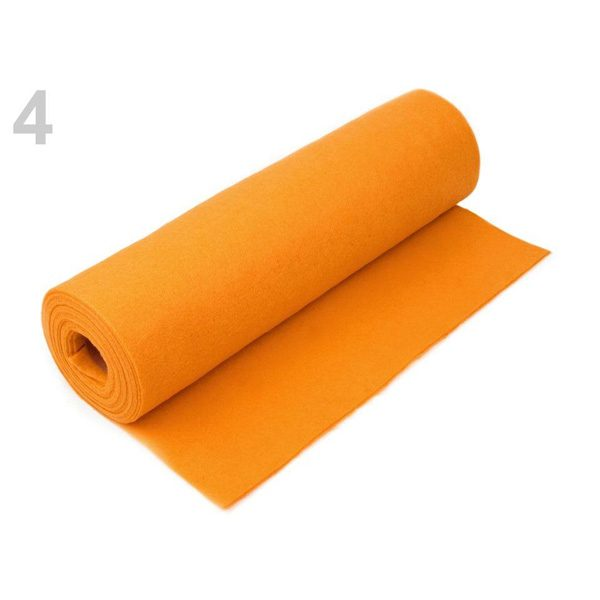 Rotolo Feltro Arancione