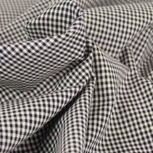 Tessuto a quadretti bianco e nero