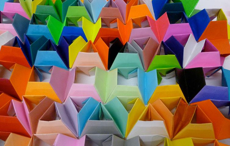 L'arte del Patchwork origami