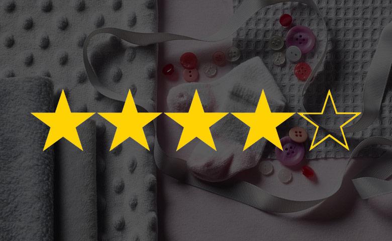 Leggere le recensioni per scegliere dove comprare i migliori tessuti online