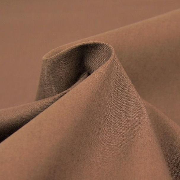Tessuto tinta unita marrone