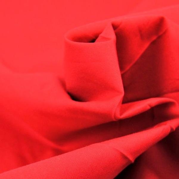 Tessuto tinta unita rosso