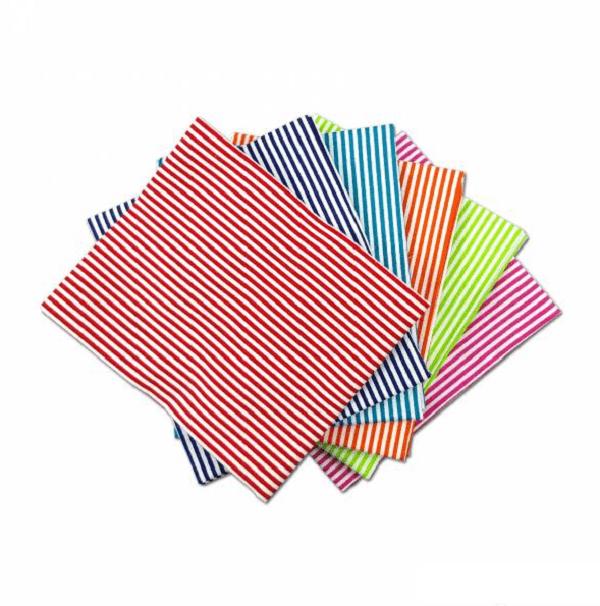 Fat Quarter Pack Bright Stripes