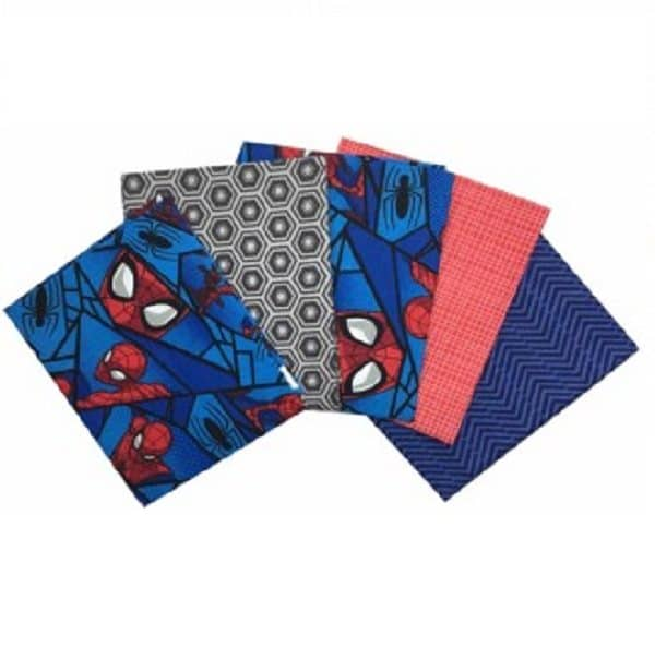 Fat Quarters Spiderman