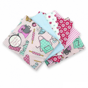 Fat Quarter Pack Just Bake