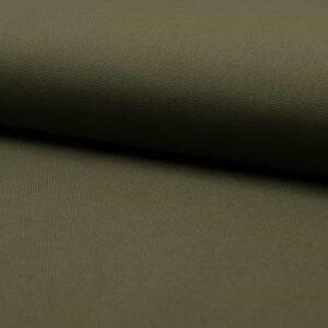 Cotone Canvas Verde Militare