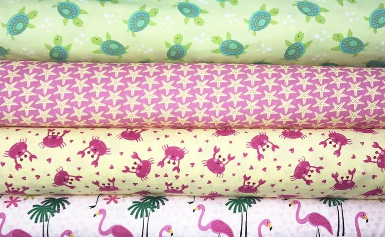 Tessuti in cotone per bambini a metraggio e jersey for Tessuti per arredamento vendita on line