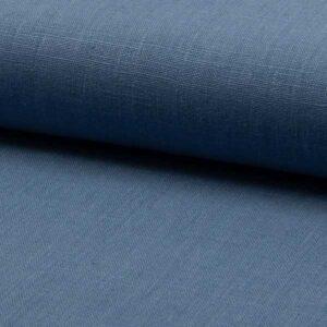 Lino Puro blu jeans a metragio