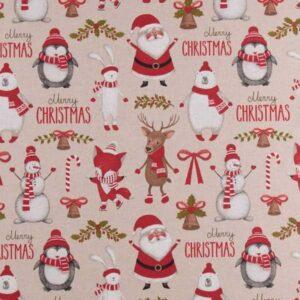 Cotone Canvas Happy Santa