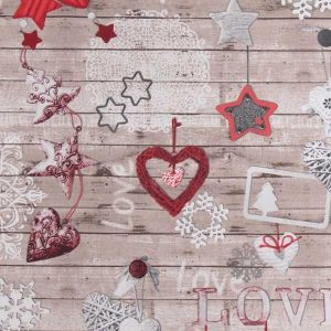 Cotone Canvas Love Christmas