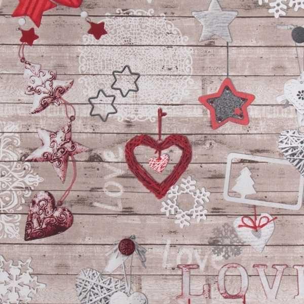 Cotone Canvas Love Christmas