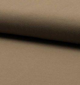 Jersey di Cotone Beige Scuro
