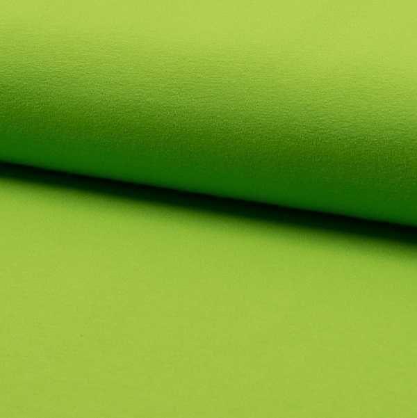 Jersey maglina di cotone verde lime