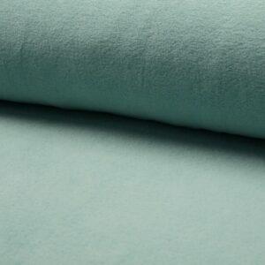 pile di cotone verde menta chiaro