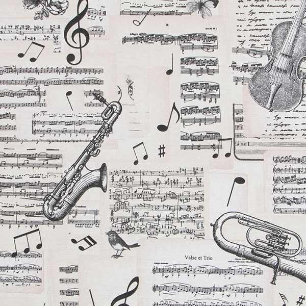 Cotone Canvas Musical