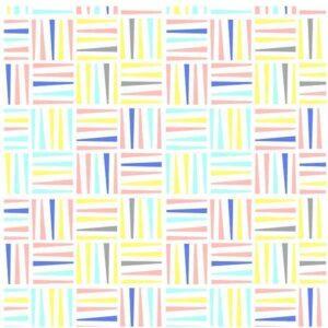 Cotone americano fantasia geometrica
