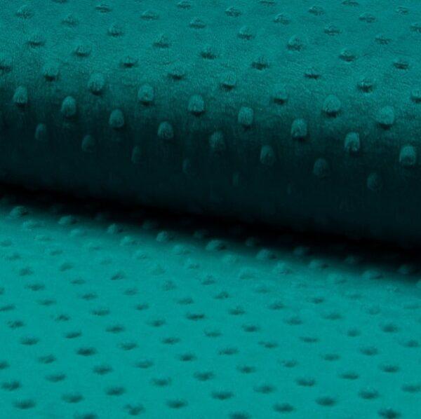 Pile Minky Dot Blu Petrol