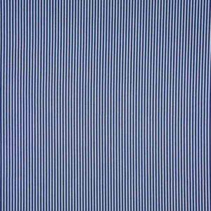 cotone a righe blu navy e bianco