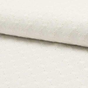 Cotone Ricamato Panna Shell
