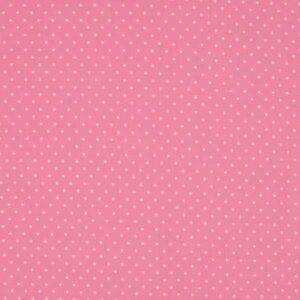 Cotone Mini Pois Rosa