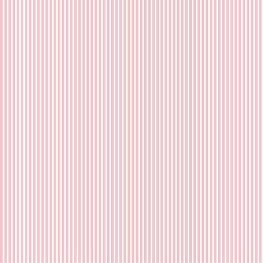 Cotone a Righe Rosa chiaro e bianco