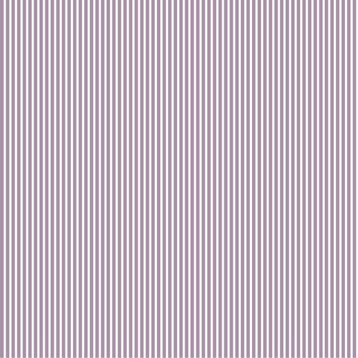 Cotone a Righe Viola Chiaro e bianco