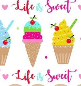 Cotone americano Ice Cream