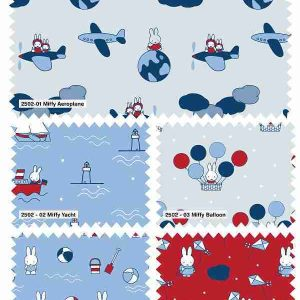 Fat Quarter Miffy Travel Collection