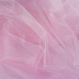 Tulle Glitter Rosa