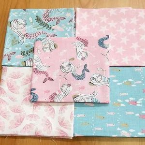 Fat Quarters Beautiful Mermaid