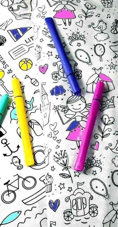cotone da colorare
