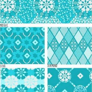 Fat Quarter Classic Tiles Blue