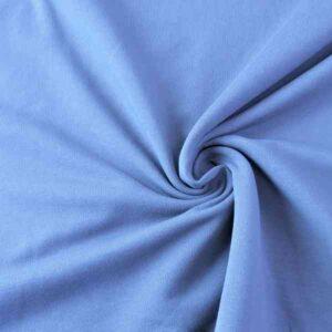 Felpa Garzata Blu Jeans