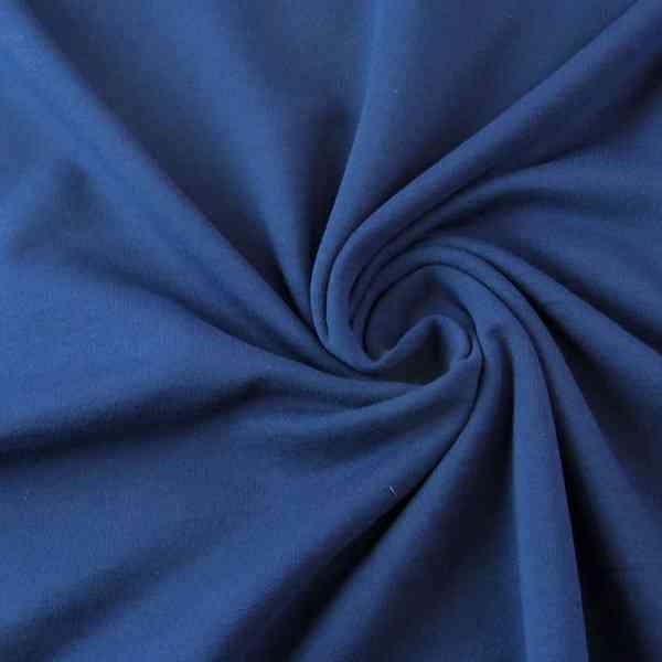 Felpa Garzata Blu Navy
