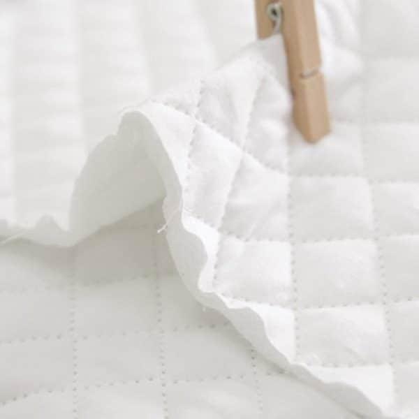 Trapuntino di Cotone Bianco