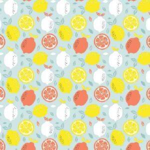 Cotone Mint con Limoni