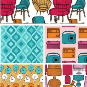 Fat Quarter Retro Furniture