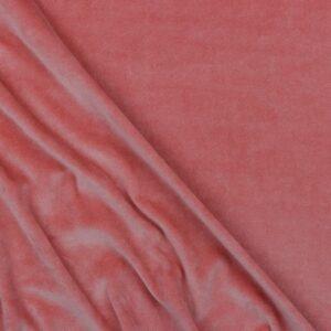 Vellutino di Cotone Rosa Antico