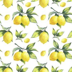 Batista di Cotone con Limoni