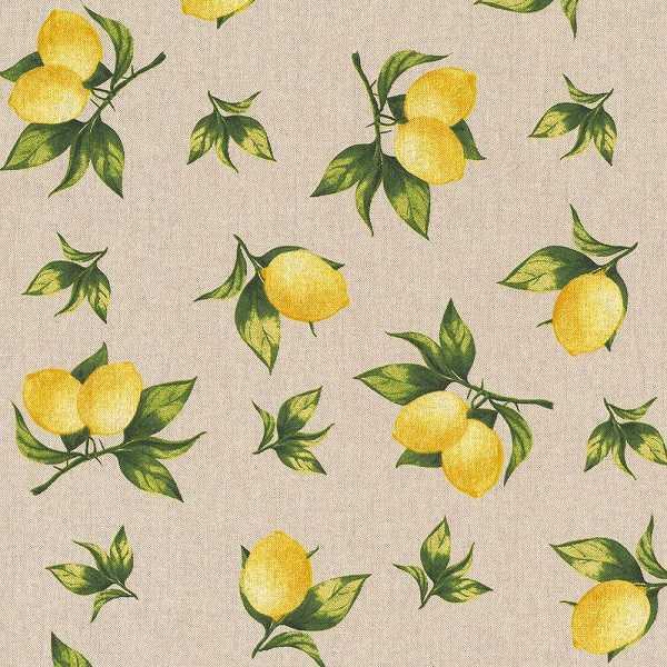 Cotone Canvas con Limoni