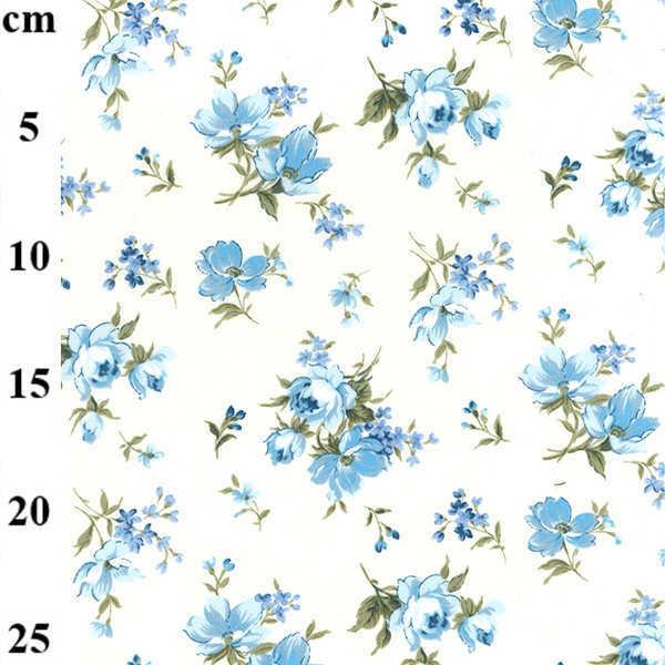 Cotone Blue Roses