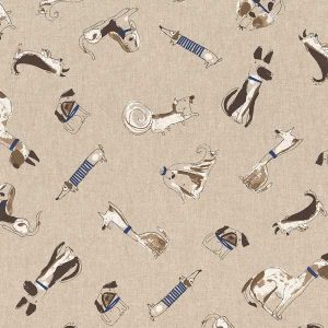 Cotone Canvas Fancy Dogs