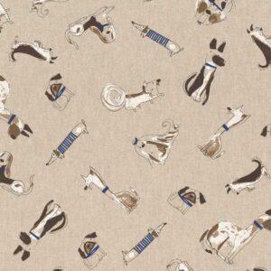 Cotone Canvas Fancy Dogs