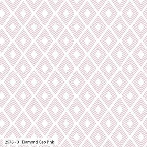 Cotone Diamond Geo Pink