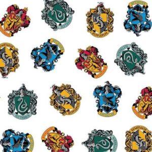 Cotone Harry Potter School Crests