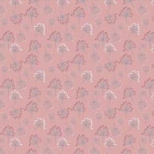 Cotone Rosa Antico con Soffioni