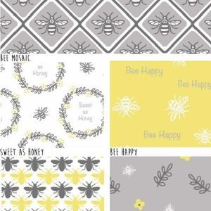 Fat Quarter Bee Happy