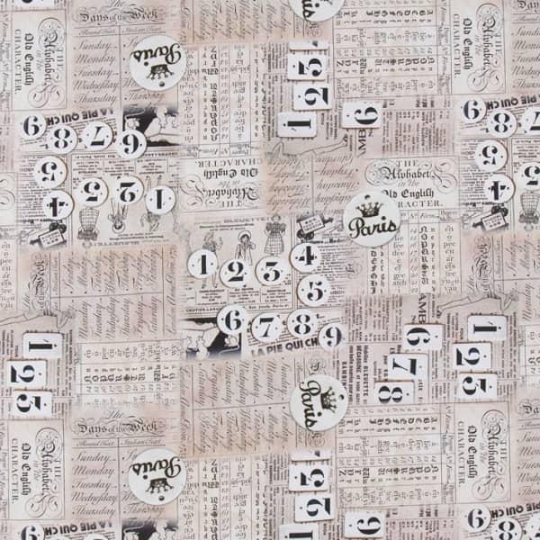 Cotone Canvas Letter from Paris