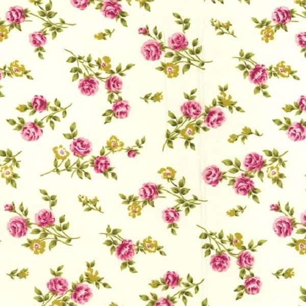 Cotone Shabby Roses Cream